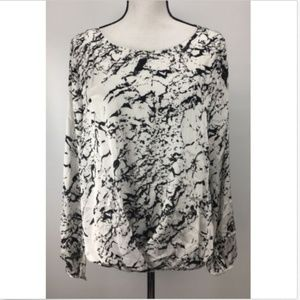 Vince Camuto Long Sleeve Blouse Women's Size L